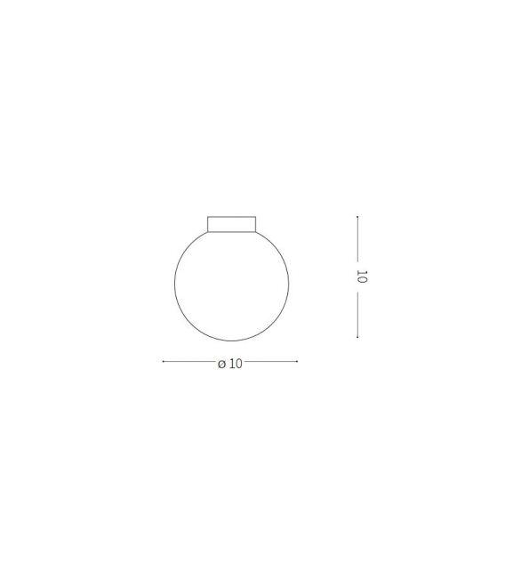 Lubinis šviestuvas SOLE PL1 Small IP44 213316