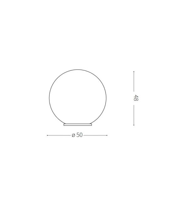 Pastatomas šviestuvas SOLE PT BIG IP44 191614