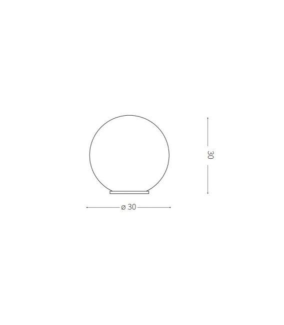 Pastatomas šviestuvas SOLE PT1 SMALL IP44 191638