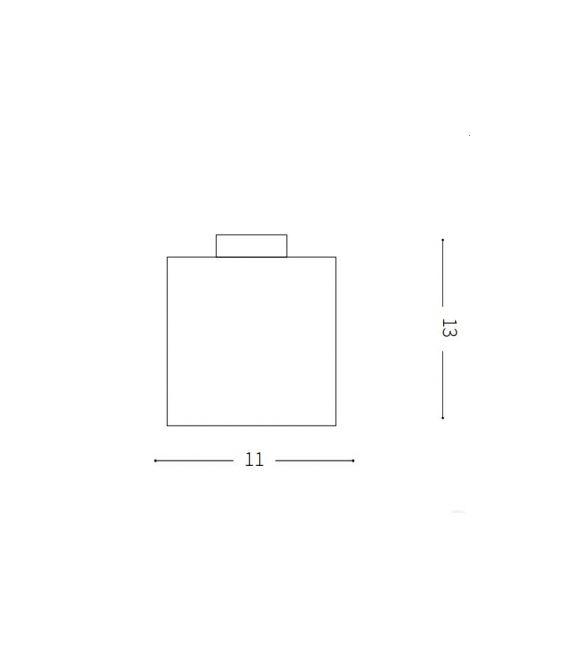 Lubinis šviestuvas LUNA Small IP44 213200