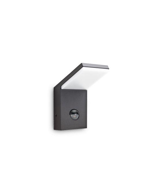 9.5W LED Sieninis šviestuvas STYLE Sensor Anthracite IP54 221519