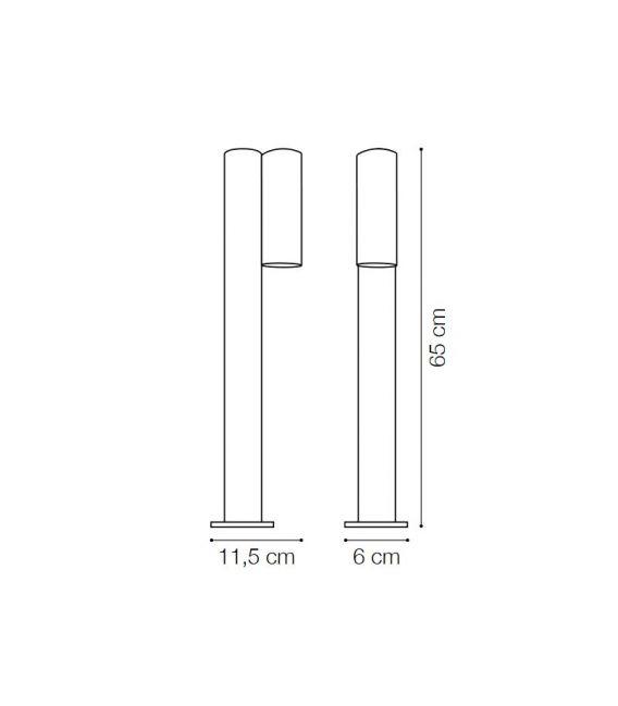 9.5W LED Pastatomas šviestuvas NEOS PT1 Antracite 161907