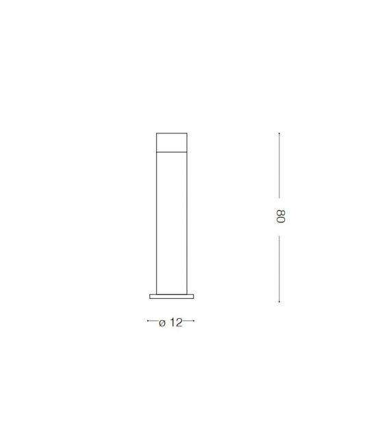 Pastatomas šviestuvas VENUS PT1 BIG Antracite IP44 106175