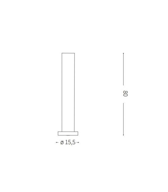 Pastatomas šviestuvas EDO OUTDOOR Round Anthracite IP44 138510