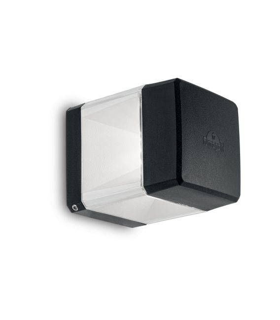 Sieninis šviestuvas ELISA AP1 Black IP44 187860