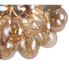 Lubinis šviestuvas BALBO 8 Amber MOD112CL-08G