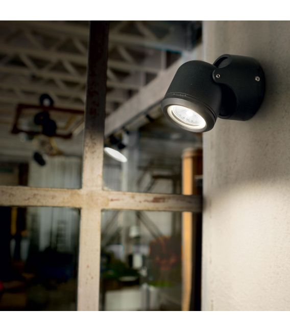 Sieninis šviestuvas XENO AP1 Black IP44 129464