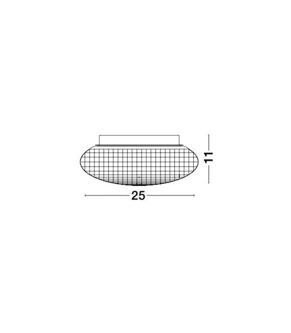 Lubinis šviestuvas SENS White IP44 838122
