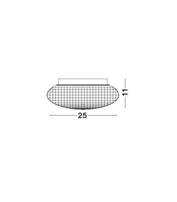 Lubinis šviestuvas SENS Clear IP44 838123
