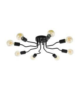 Lubinis šviestuvas ORAZIO 8 Black 97985