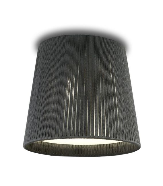 Lubinis šviestuvas DRUM grey Ø50cm 24000/50G-I