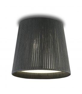 Lubinis šviestuvas DRUM grey Ø50cm