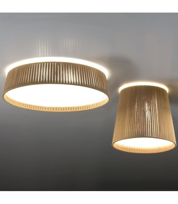 Lubinis šviestuvas DRUM beige Ø50cm 24000/50B-I