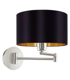 Sieninis šviestuvas MASERLO Black 95054