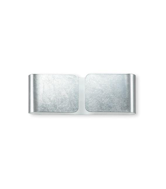 Sieninis šviestuvas CLIP Silver Mini 091136