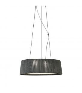 Pakabinamas šviestuvas DRUM Ø80cm 24800/80 grey