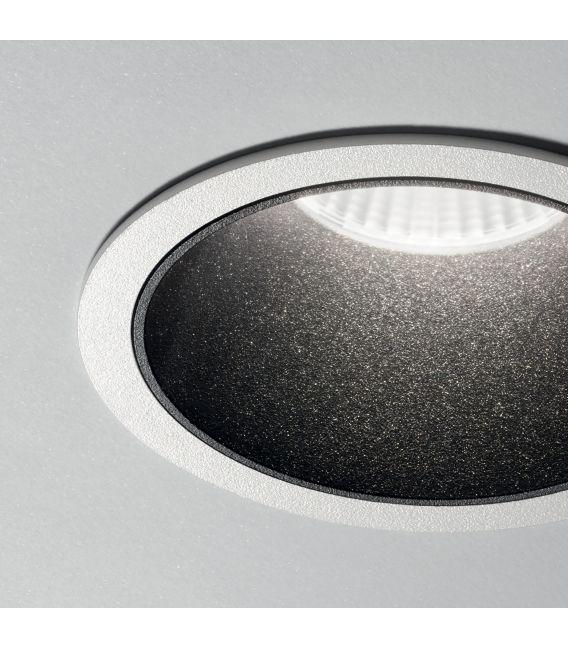 12W LED Įmontuojamas šviestuvas GAME ROUND White Black 192277