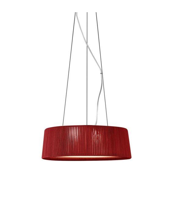 Pakabinamas šviestuvas DRUM Ø80cm 24800/80 red