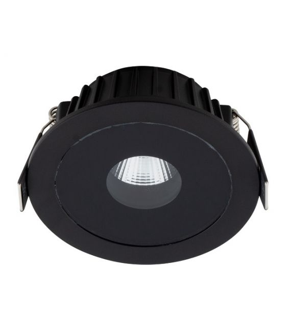 13W LED Įmontuojamas šviestuvas PLAZMA Black IP54 H0088