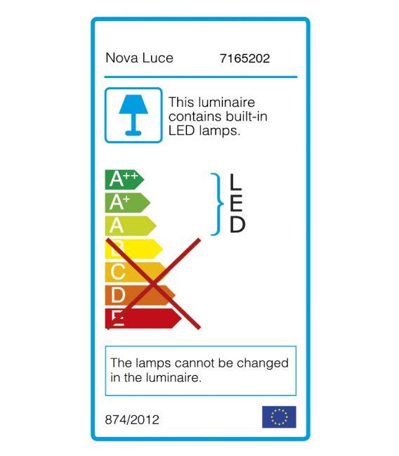 Lubinis šviestuvas RODA LED Gray Ø40 7165202