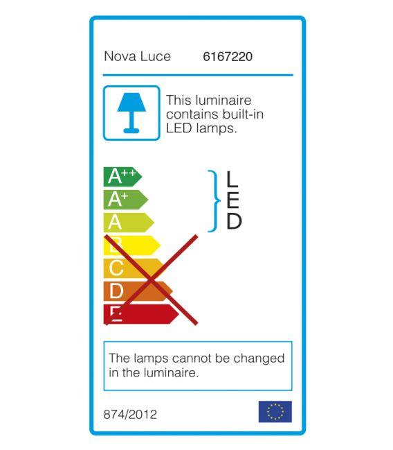 42W LED Pakabinamas šviestuvas RANDO Ø60 Black 6167220