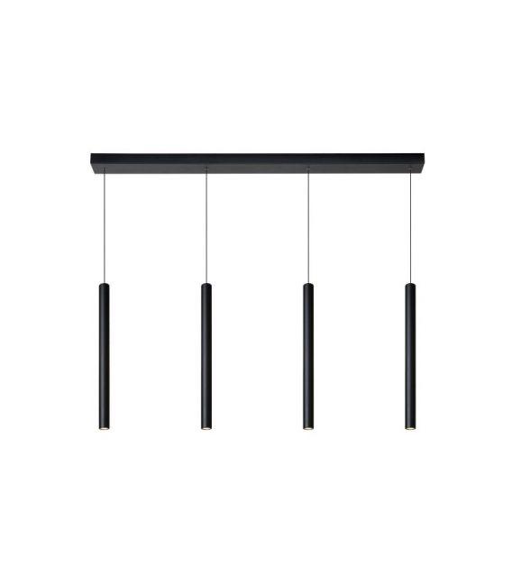 16W LED Pakabinamas šviestuvas LORENZ 4 Black Dimeriuojamas 74403/04/30