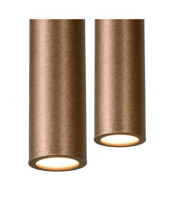 16W LED Pakabinamas šviestuvas LORENZ 4 Brown Dimeriuojamas 74403/04/97