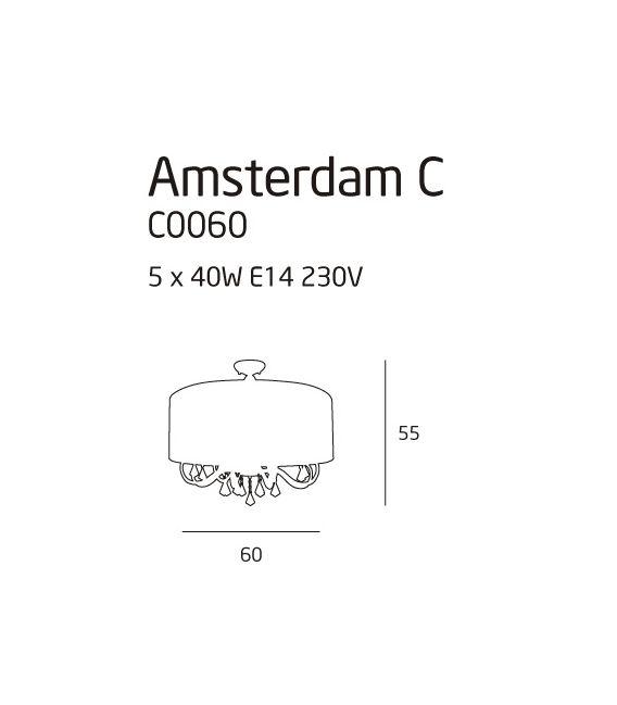 Lubinis šviestuvas AMSTERDAM C0060