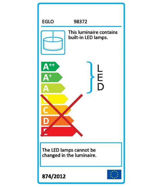 26.8W LED Pakabinamas šviestuvas OPTICA-C Ø45 Dimeriuojamas 98372