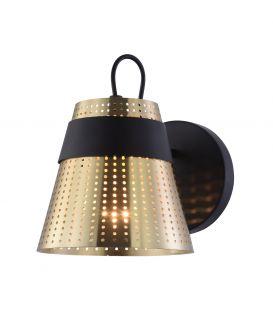 Sieninis šviestuvas TRENTO Brass MOD614WL-01BS