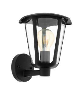 Sieninis šviestuvas MONREALE Up Black IP44 98119