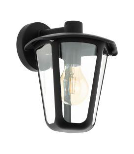 Sieninis šviestuvas MONREALE Down Black IP44 98121