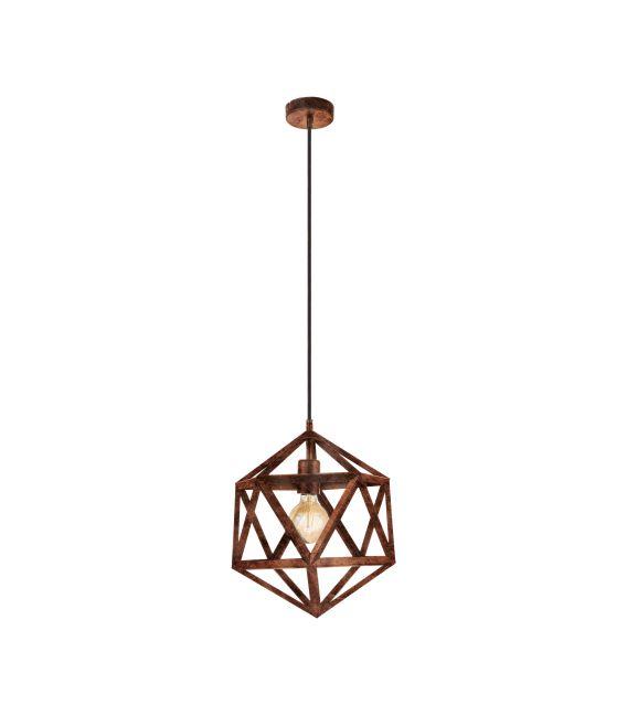Pakabinamas šviestuvas EMBLETON Copper 49797