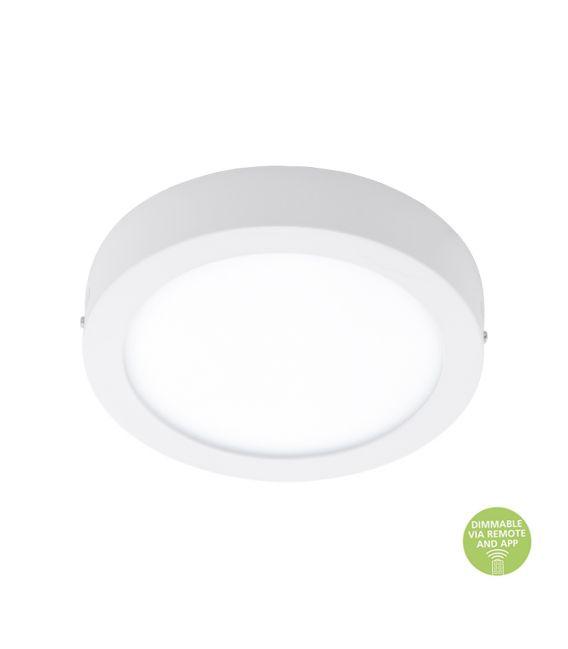 21W Paviršinė LED panelė EGLO CONNECT FUEVA-C White 96671