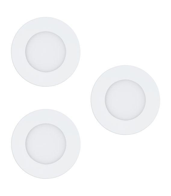 3 x 3W LED Įmontuojama panelė FUEVA-C EGLO CONECT Ø8.5 32881