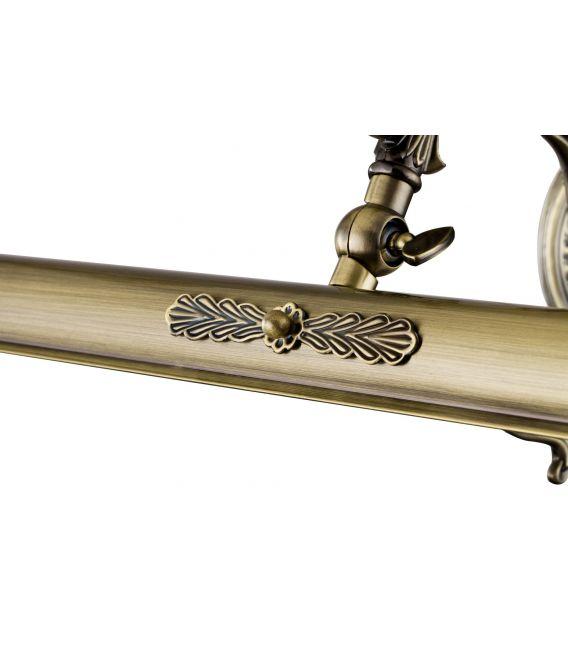Sieninis šviestuvas PICASSO Bronze PIC114-02-R