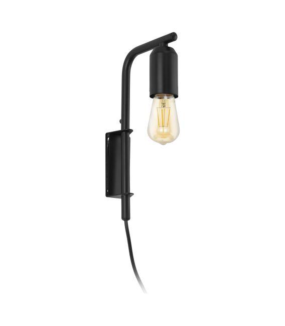 Sieninis šviestuvas ADRI Black 98064