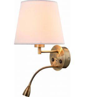 Sieninis šviestuvas CAICOS Brass 6093