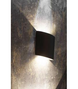 6W LED Sieninis šviestuvas SOCHI Black IP54 6530