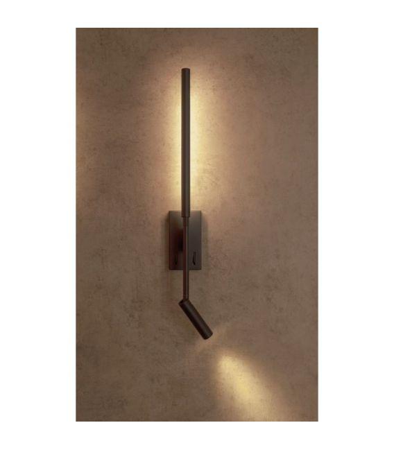 9W LED Sieninis šviestuvas TORCH Black 6703