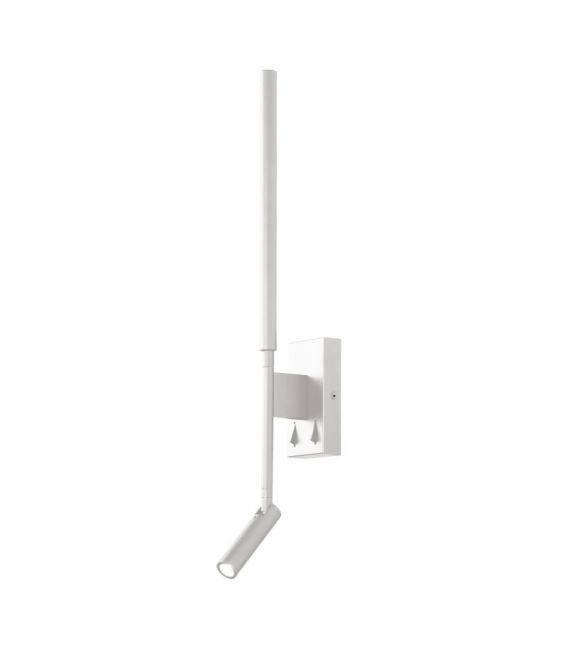 9W LED Sieninis šviestuvas TORCH White 6702