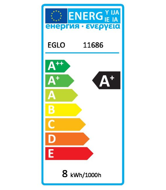 LED LEMPA 8W E27 11686