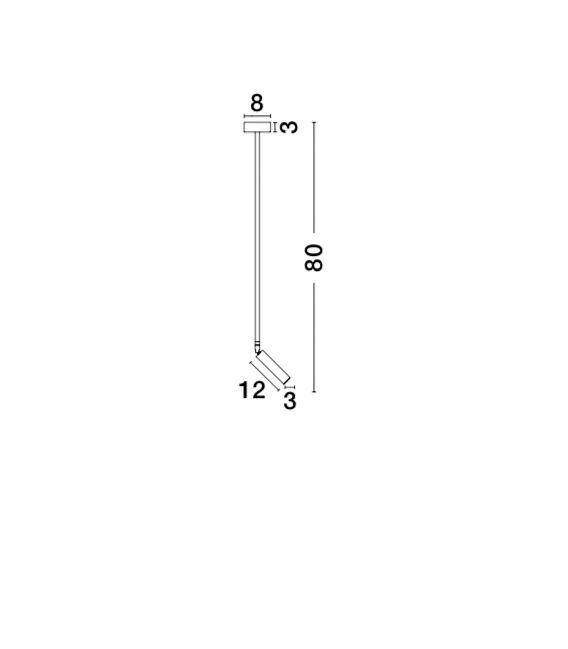 3W LED Pakabinamas šviestuvas SICILY 7140184