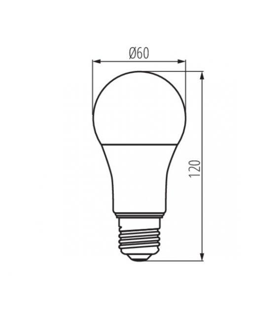 LED LEMPA 14W E27 2700K 27279