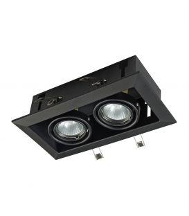 Įmontuojamas šviestuvas METAL MODERN 2 Black DL008-2-02-B