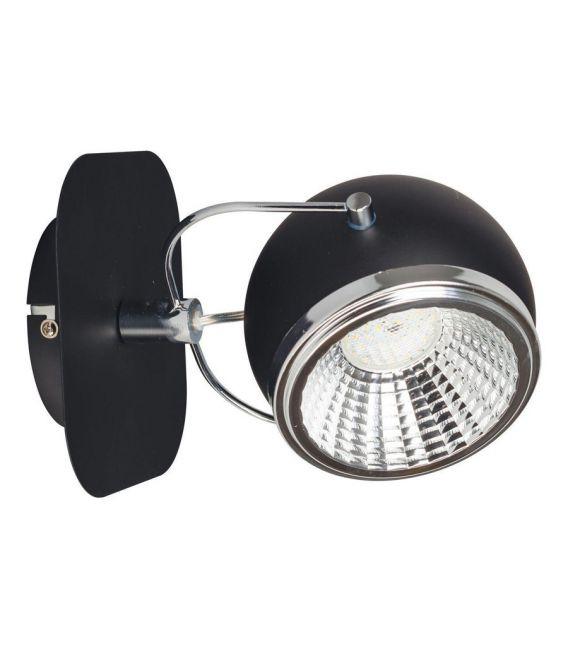 Sieninis šviestuvas BALL Black 5009184