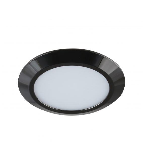 7W LED Įmontuojamas šviestuvas GAMA MINI |Black Ø9.5 LC1453 YLD-017485