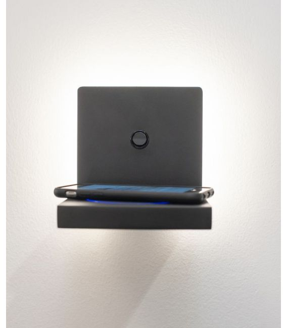 3W LED Sieninis šviestuvas ZANZIBAR Black 6755