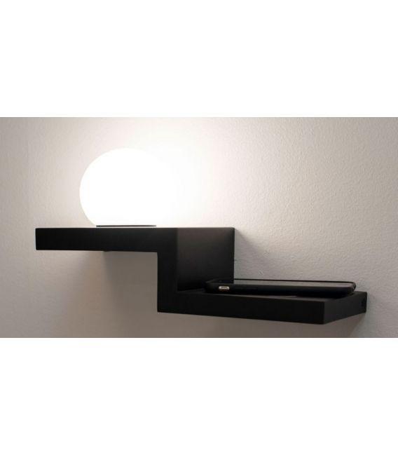 6W LED Sieninis šviestuvas ZANZIBAR Black 6753