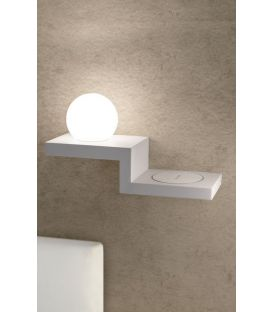 6W LED Sieninis šviestuvas ZANZIBAR White 6751